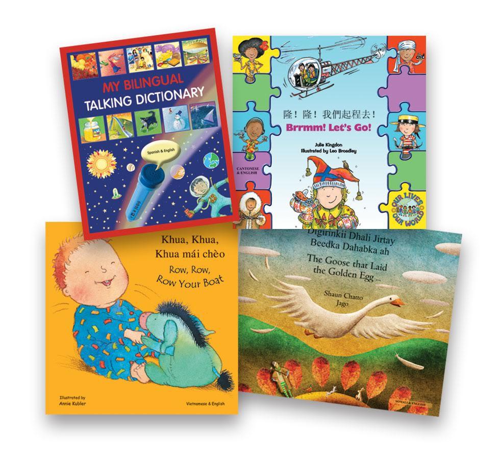 children's bilingual dual language books