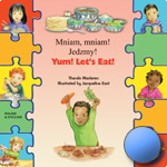 Yum Let's Eat! Bilingual children's book