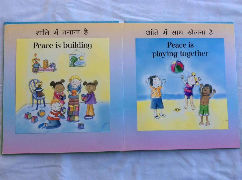 What is Peace? bilingual children's book