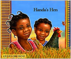 Handa's Hen dual language book