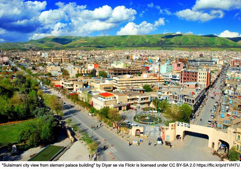 city view in kurdistan