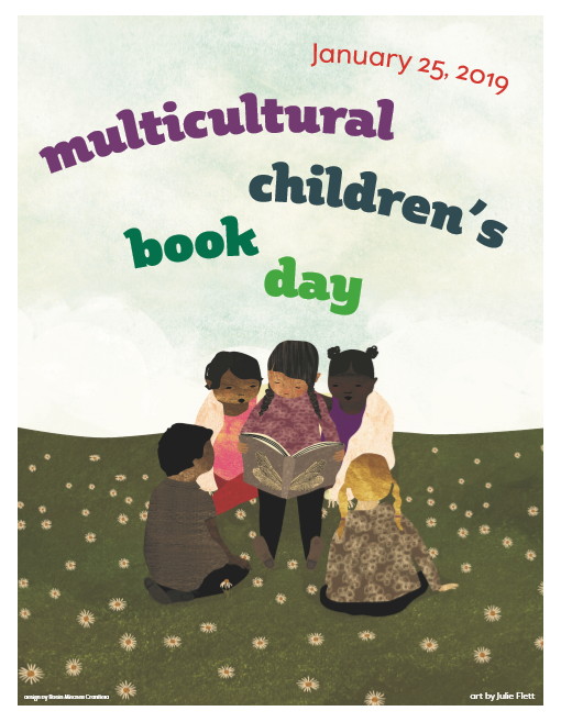 Poster for Multicultural Children's Book Day 2019